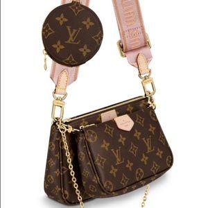 Louis Vuitton multi pochette WITH RECEIPT